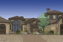 Craftsman Exterior - Rear Elevation Plan #892-6