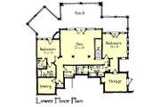 Craftsman Style House Plan - 3 Beds 3.5 Baths 3236 Sq/Ft Plan #921-17 Floor Plan - Lower Floor Plan
