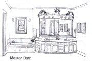 European Style House Plan - 4 Beds 3.5 Baths 3709 Sq/Ft Plan #310-945 Photo
