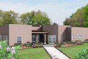 Adobe / Southwestern Style House Plan - 3 Beds 2.5 Baths 1861 Sq/Ft Plan #1-709