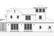 Farmhouse Style House Plan - 3 Beds 2.5 Baths 2170 Sq/Ft Plan #901-140 Exterior - Other Elevation