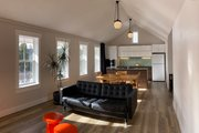 Farmhouse Style House Plan - 2 Beds 2 Baths 996 Sq/Ft Plan #933-10 Interior - Family Room