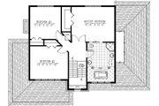 Modern Style House Plan - 3 Beds 1.5 Baths 2072 Sq/Ft Plan #138-356 Floor Plan - Upper Floor Plan