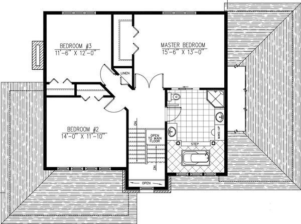 2000 square foot 3 bedroom 2 bath modern home