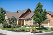 Dream House Plan - Front View - 2000 square foot Craftsman home