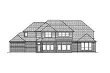 Dream House Plan - European Exterior - Rear Elevation Plan #84-417
