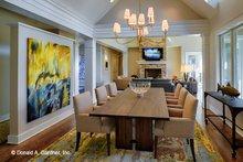 House Plan Design - Craftsman Interior - Dining Room Plan #929-898