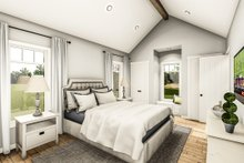 Architectural House Design - Country Interior - Master Bedroom Plan #406-9659