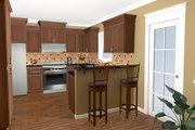 Craftsman Style House Plan - 3 Beds 2 Baths 1509 Sq/Ft Plan #21-246 Photo