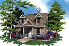 Dream House Plan - Traditional Exterior - Front Elevation Plan #48-311