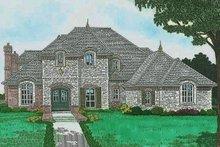 House Plan Design - European Exterior - Front Elevation Plan #310-1297