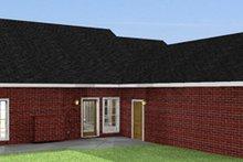 Ranch Exterior - Rear Elevation Plan #44-117
