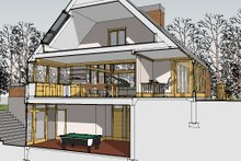 Contemporary Exterior - Other Elevation Plan #481-1