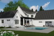 Farmhouse Style House Plan - 4 Beds 3.5 Baths 3011 Sq/Ft Plan #51-1139 Exterior - Other Elevation