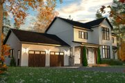 Craftsman Style House Plan - 4 Beds 2.5 Baths 2380 Sq/Ft Plan #23-2724 Exterior - Front Elevation