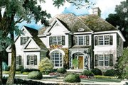 Traditional Style House Plan - 4 Beds 3.5 Baths 2935 Sq/Ft Plan #429-26