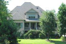 Dream House Plan - European Exterior - Rear Elevation Plan #1054-82