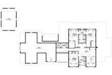 Bungalow Floor Plan - Upper Floor Plan Plan #928-340