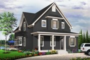 Traditional Style House Plan - 3 Beds 2 Baths 2066 Sq/Ft Plan #23-825 Exterior - Other Elevation