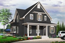 Home Plan - Traditional Exterior - Other Elevation Plan #23-825