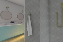 Farmhouse Interior - Master Bathroom Plan #126-175