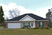 Traditional Style House Plan - 3 Beds 2 Baths 1500 Sq/Ft Plan #44-135 Exterior - Other Elevation