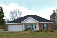 House Plan Design - Traditional Exterior - Other Elevation Plan #44-135