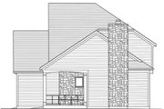 Craftsman Style House Plan - 4 Beds 2.5 Baths 1959 Sq/Ft Plan #46-470 Exterior - Other Elevation