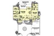 Southern Style House Plan - 4 Beds 2.5 Baths 2750 Sq/Ft Plan #430-49 Floor Plan - Main Floor Plan