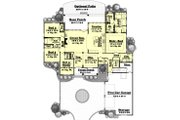 Southern Style House Plan - 4 Beds 2.5 Baths 2750 Sq/Ft Plan #430-49 Floor Plan - Main Floor
