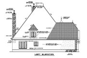 European Style House Plan - 4 Beds 3.5 Baths 3328 Sq/Ft Plan #17-2347 Exterior - Other Elevation