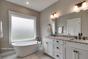 Craftsman Style House Plan - 3 Beds 3 Baths 1819 Sq/Ft Plan #929-869 Interior - Master Bathroom