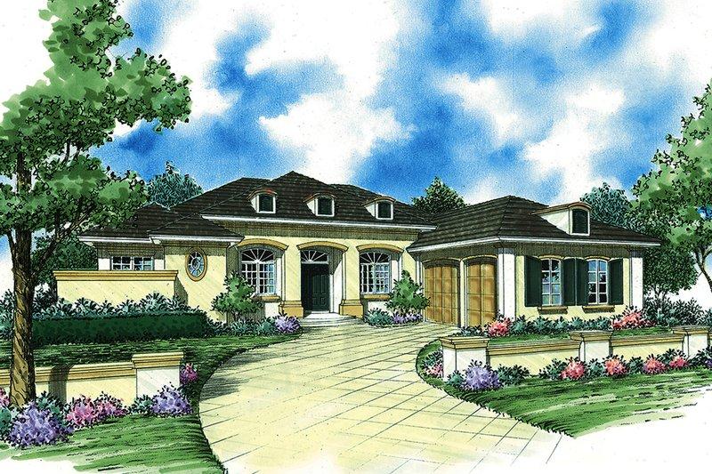 House Plan Design - Ranch Exterior - Front Elevation Plan #930-490
