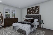 House Plan Design - Cottage Interior - Master Bedroom Plan #1060-64