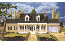 Traditional Exterior - Front Elevation Plan #3-211