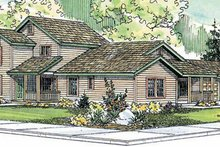 Home Plan - Contemporary Exterior - Front Elevation Plan #124-804