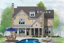 Home Plan - Farmhouse Exterior - Rear Elevation Plan #929-1120