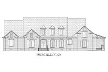 European Exterior - Front Elevation Plan #1054-56