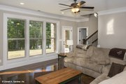Cottage Style House Plan - 4 Beds 4 Baths 3123 Sq/Ft Plan #929-992 Interior - Family Room