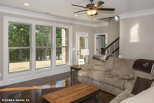 Dream House Plan - Cottage Interior - Family Room Plan #929-992