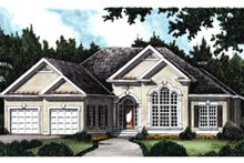 Traditional Exterior - Front Elevation Plan #927-34