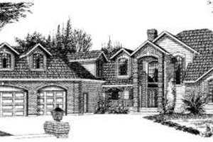 Traditional Exterior - Front Elevation Plan #303-325