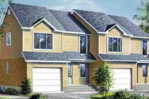 Traditional Exterior - Front Elevation Plan #25-358