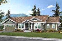 House Plan Design - Craftsman Exterior - Front Elevation Plan #132-570