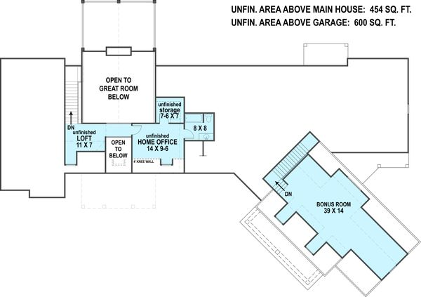 Ranch Floor Plan - Other Floor Plan Plan #119-430