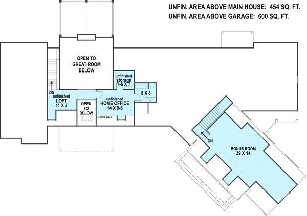 Ranch Floor Plan - Other Floor Plan #119-430