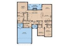 European Floor Plan - Main Floor Plan Plan #923-138