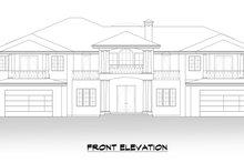 House Plan Design - Mediterranean Exterior - Front Elevation Plan #1066-124