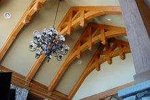 Architectural House Design - Craftsman Interior - Family Room Plan #54-385