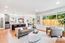 Contemporary Interior - Family Room Plan #1066-88